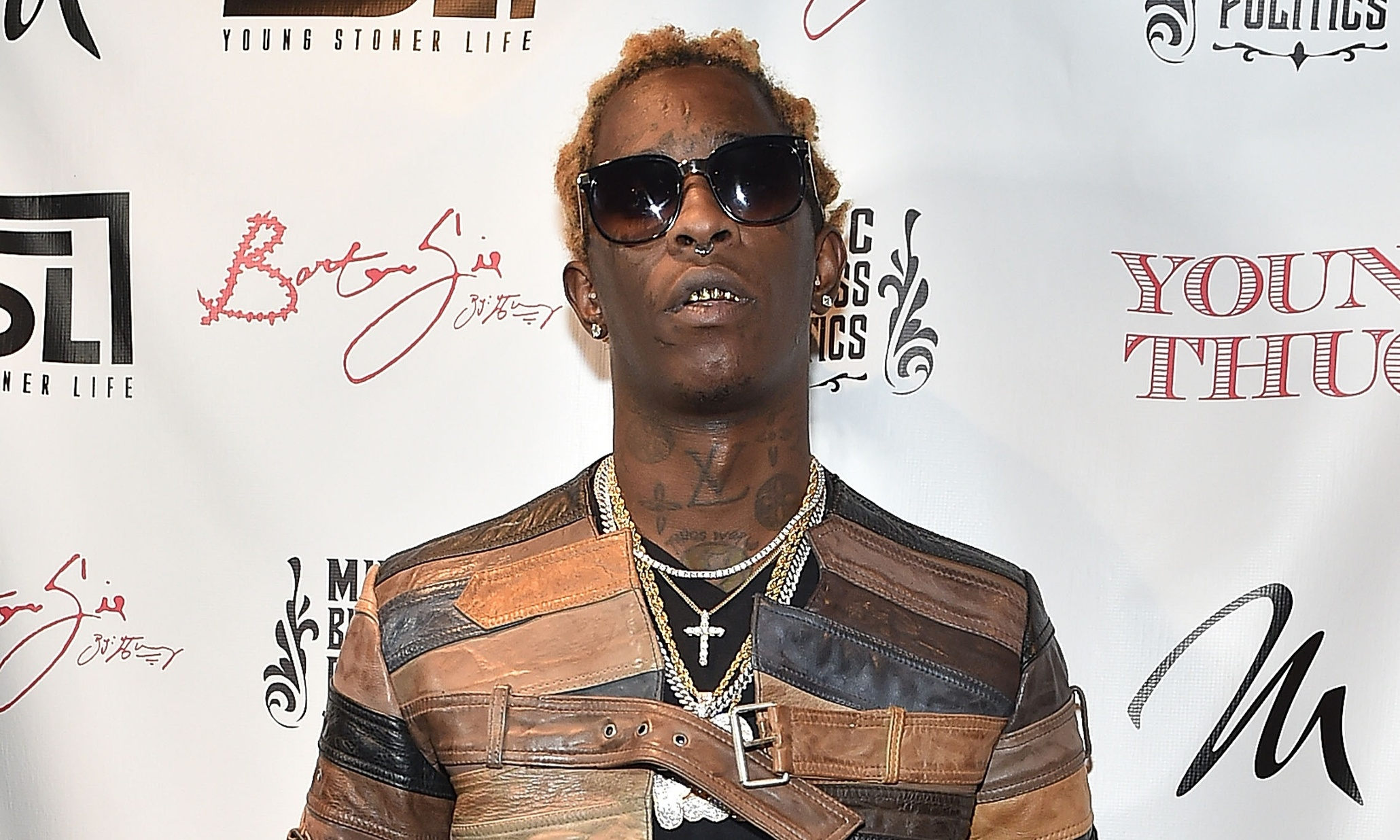 ATLANTA, GA - APRIL 17: Rapper Young Thug attend Young Thug Private Listening Party at Tease on April 17, 2015 in Atlanta, Georgia. (Photo by Paras Griffin/Getty Images)
