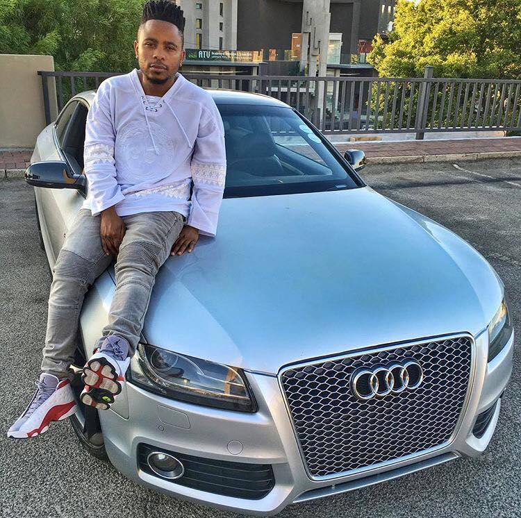 L Tido Shows Off His New Car Sa Hip Hop Mag