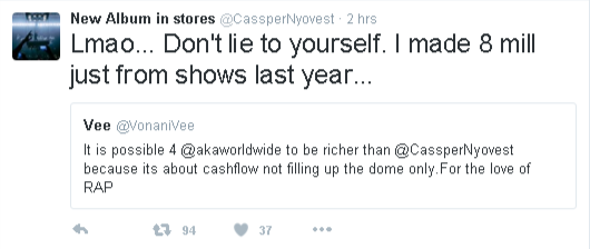 cass show money