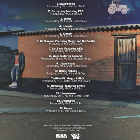 Check out ma e39s township counsellor album tracklist sa for Küchenblock ma e