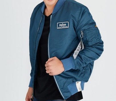 Alpha Industries MA -1 Custom Cobalt Jacket