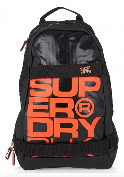 SUPERDRY Super Black Backpack