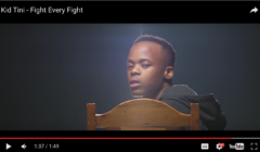 New Release: Kid Tini - Fight Every Fight Video