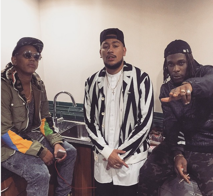 Burna Boy Opens Up About How He Met AKA