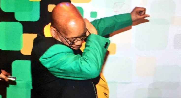 Zuma Dab's On His Opposition