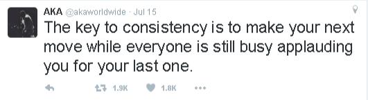 aka consistency