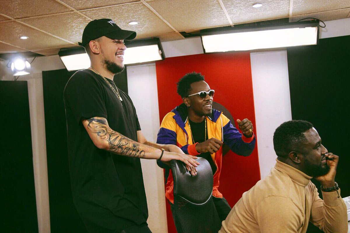 "Watch AKA And Patoranking Performing ""Special Fi Mi"""
