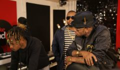 Cassper Nyovest In Studio With Diamond Platinumz