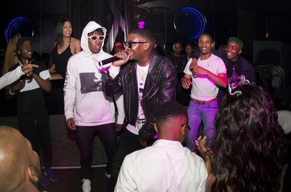 Watch Okmalumkoolkat Killing The 'Umswenko the combo is a dunk' Dance