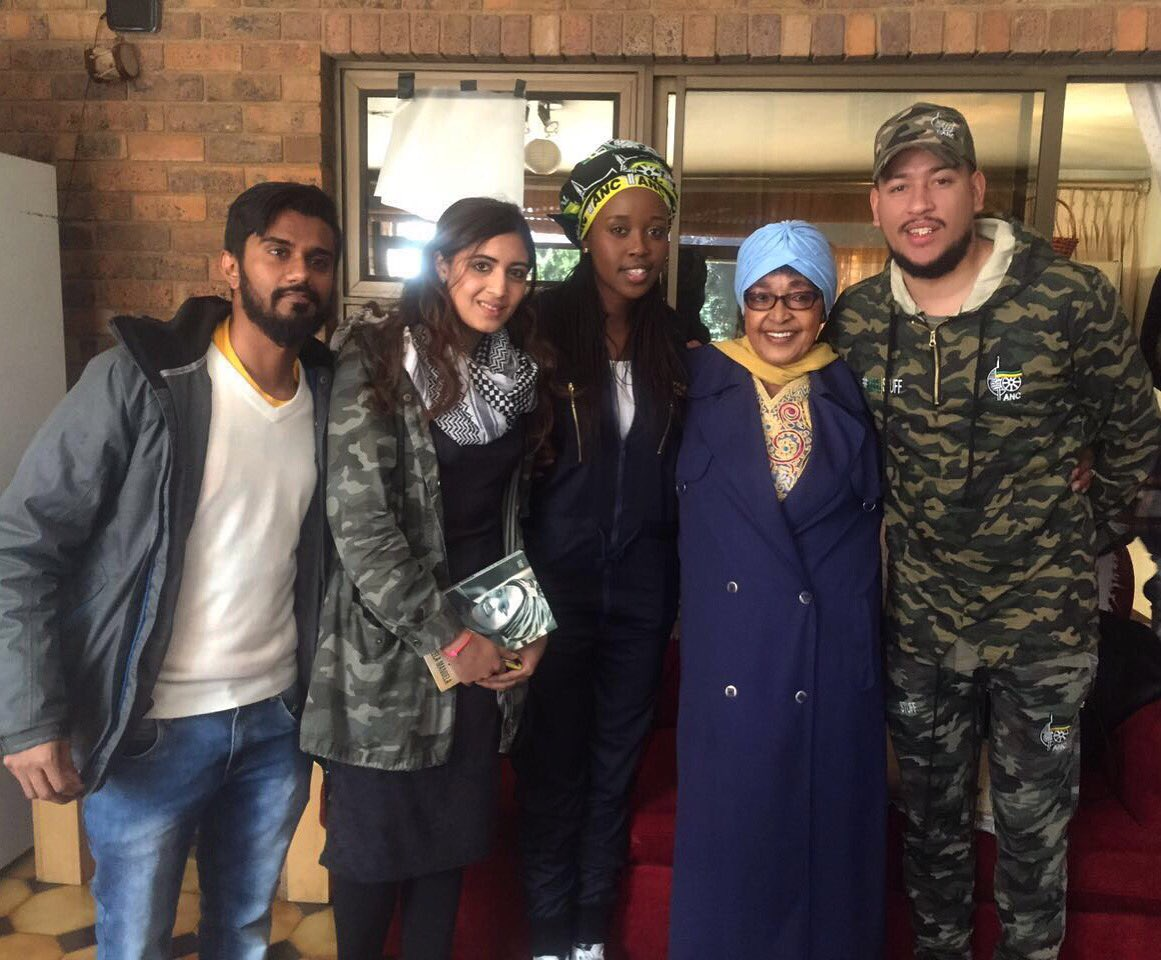 Watch Winnie Mandela Tell AKA How Important Musicians Are To The Struggle