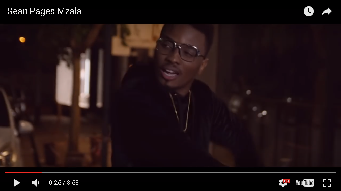 New Release: Sean Pages - Mzala Video