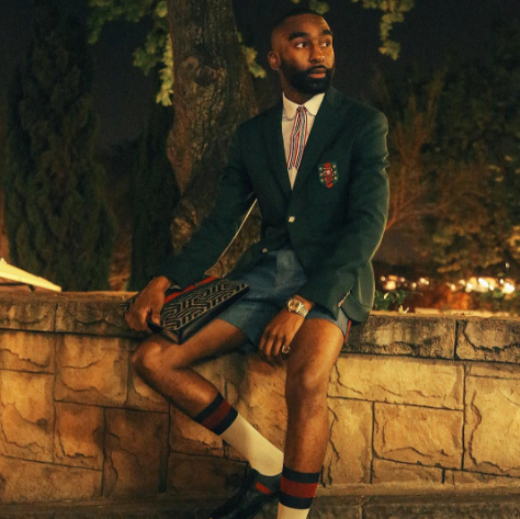 Gucci Acknowledges Riky Rick's Dressing At the #BETAList