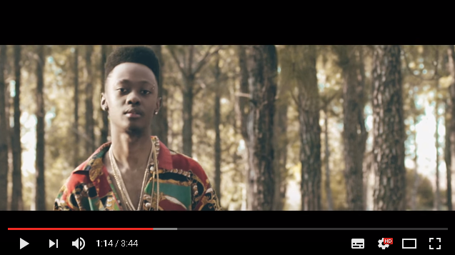 New Release: Moz Kidd - Too Young Video
