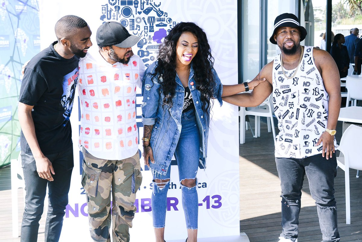 """""""I don't want no problems"""" Says Cassper In A Pic With Zinhle"""