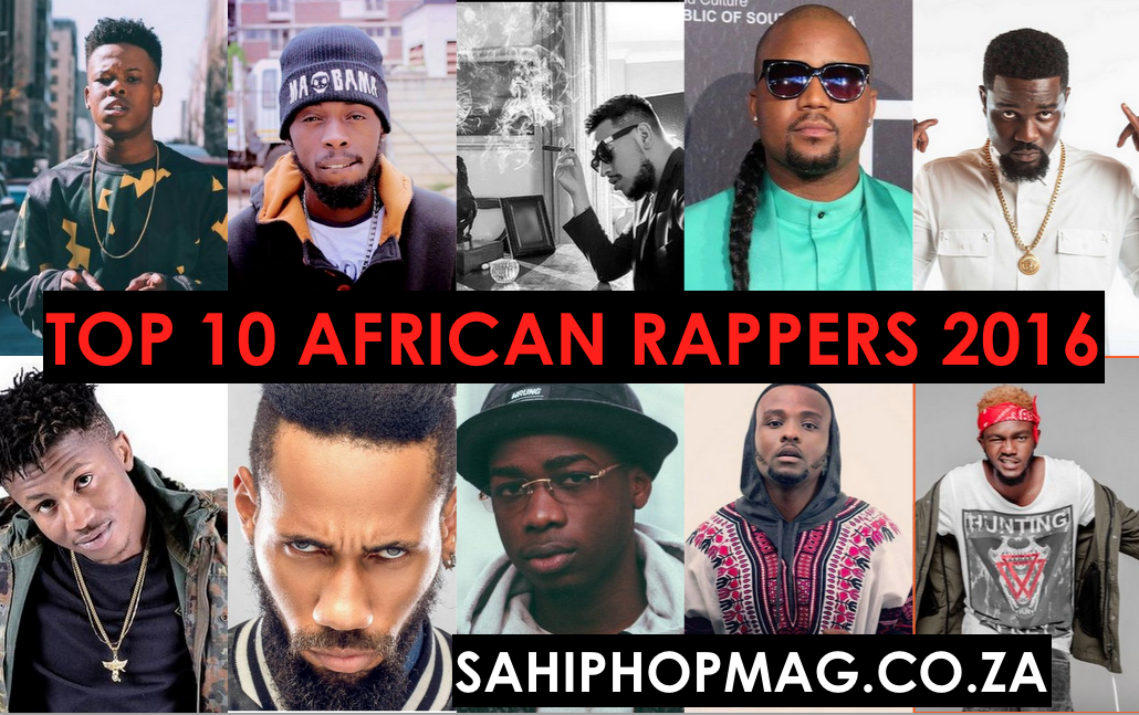 Top10AfricanRappers2016