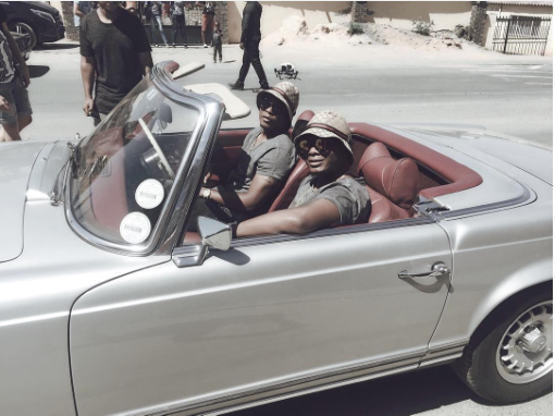 Major League DJz Release #BTS Pics For The S'getit Video