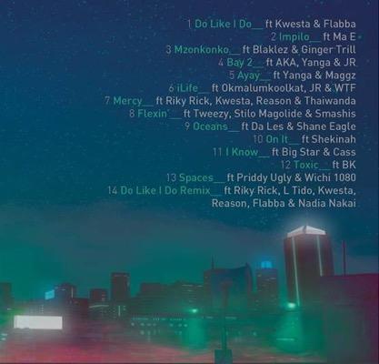 sliqe-tracklist