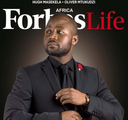 Cassper Nyovest Featured In This Months Edition Of Forbes Mag Africa