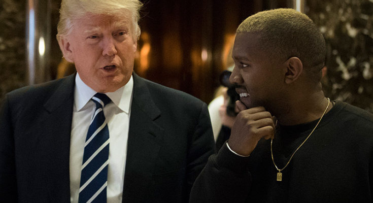 Kanye West Meets With Donald Trump In New York