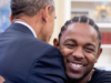 """""""He got to work on his jumpshot a little bit"""" Says Kendrick Lamar About Obama"""