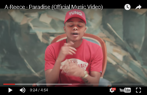 New Release: A-Reece - Paradise Video