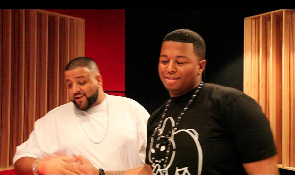 Must See Video Of Anatii's Studio Session With Dj Khaled