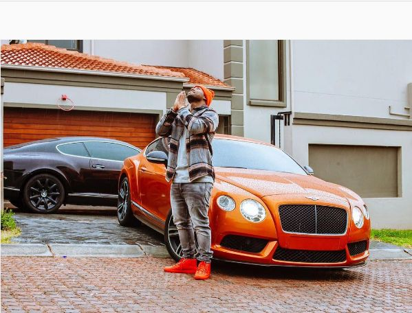 """I'm broke"" says Cassper Nyovest After Trying To Sell one Of His Luxury Cars"