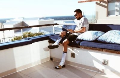 Pics! AKA Currently In Cape Town Working On New Music