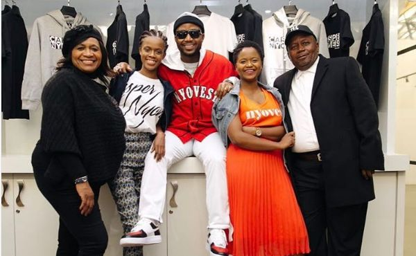 Cassper Pays Tribute To His Family In Touching Post