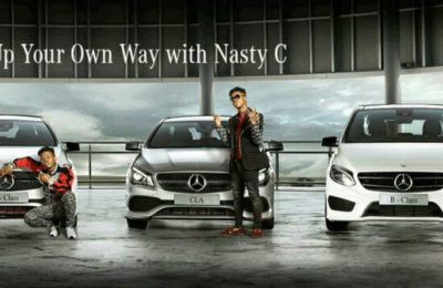 Nasty C Scores New Deal With Mercedes Benz