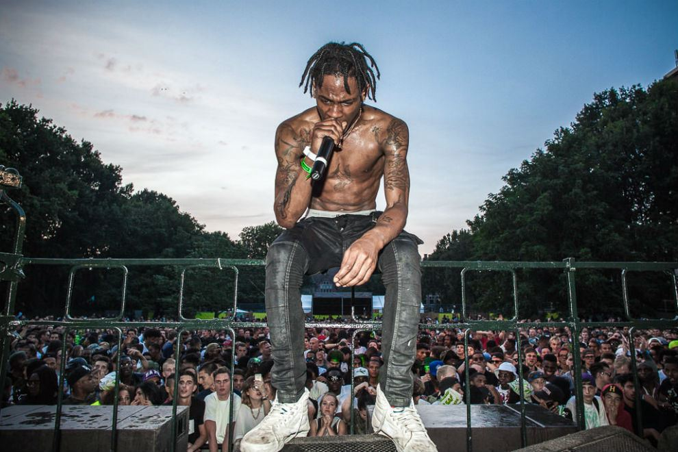 Travis Scott Shoots Down Reports Of Being Mistaken For Chief Keef in South Africa