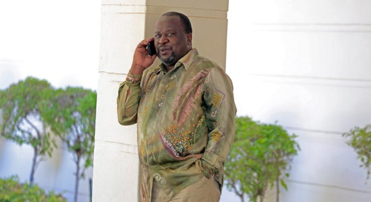 """""""You owe me a lot of money,"""" Tito Mboweni To Cassper"""