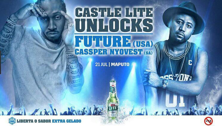 Cassper Nyovest Set To Share The Stage With Future In Mozambique