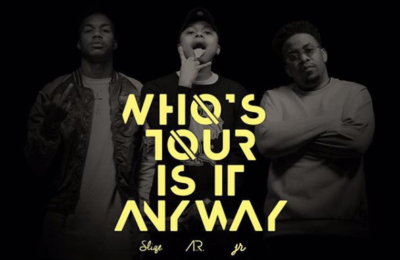 A-Reece, DJ Sliqe & JR Set To Go On The 'Who's Tour Is It Anyway?' Tour