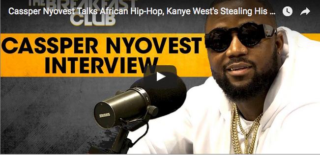 Watch Cassper Nyovest's Breakfast Club Interview