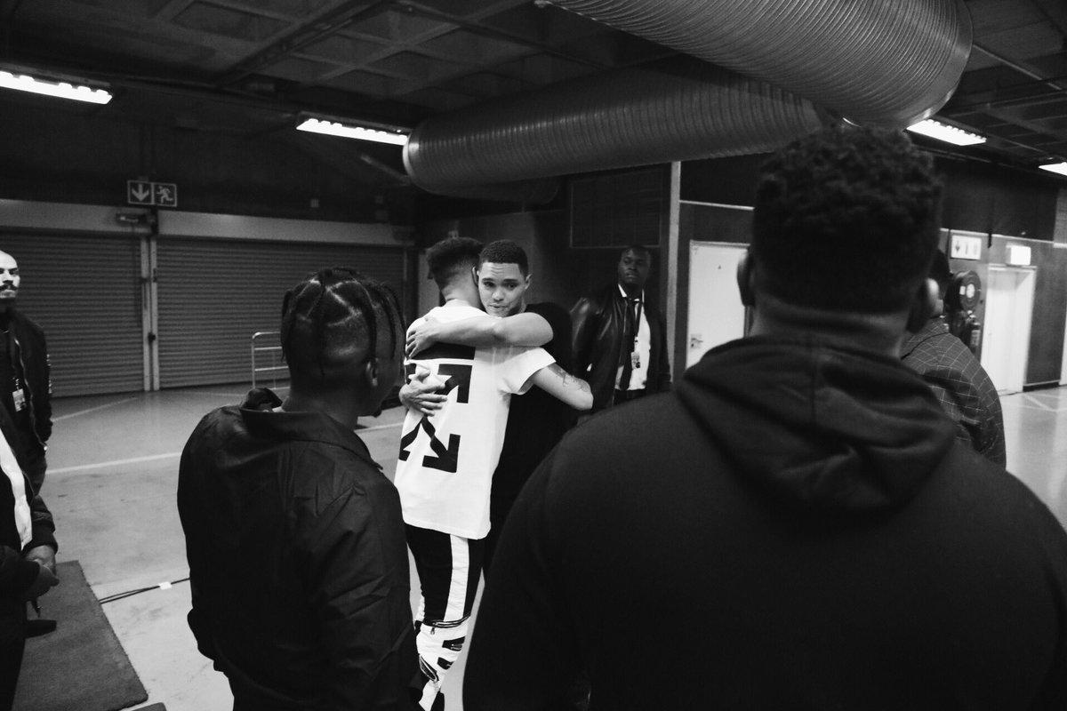 Check Out Backstage Pics Of AKA, Trevor Noah, Bonang & More