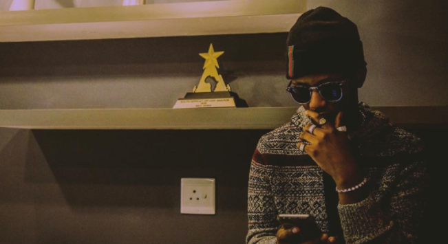"""""""I think I'm one of the few musicians who are obsessed with recording"""" - Emtee"""