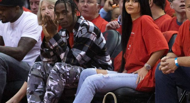 Travis Scott Gifts Kylie Jenner With R800 000 Birthday Butterfly Chain