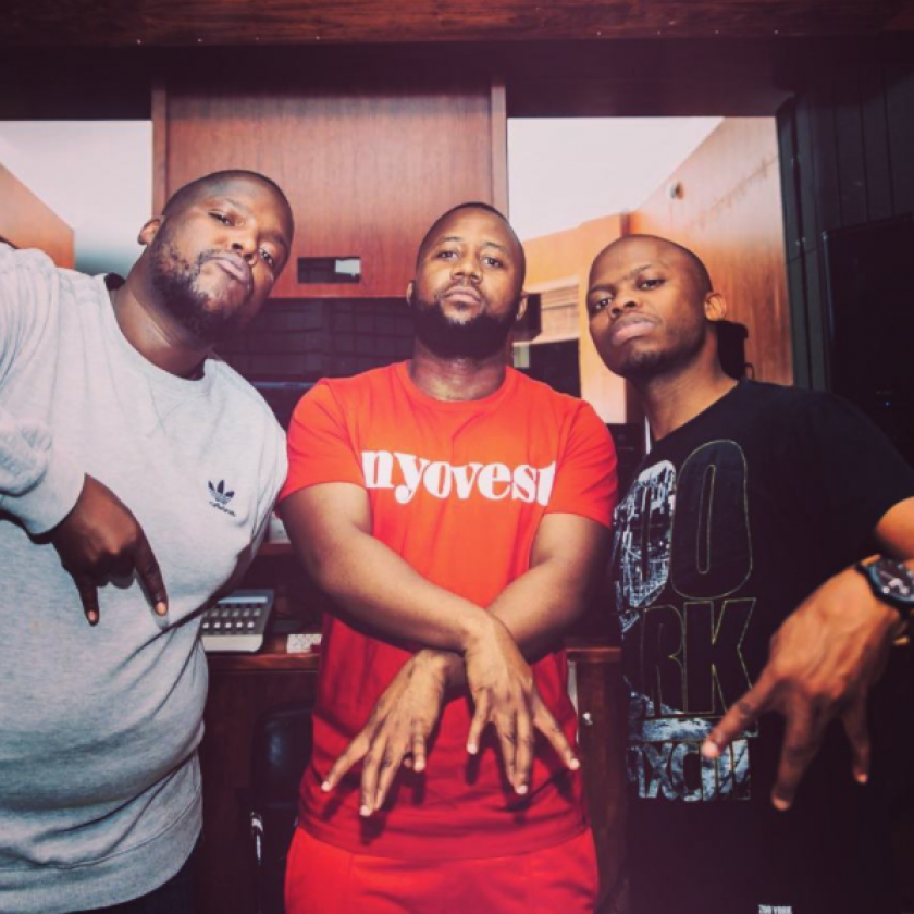 Looks Like Cassper Nyovest Will Be Finally On A Record With HHP Plus Towdee Mac