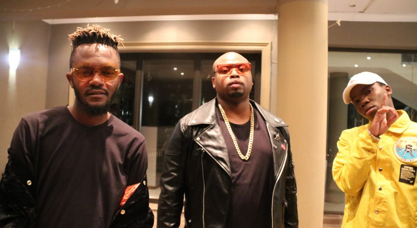 Check Dj Dimplez's What A Night Video Shoot With Kwesta & Tellaman
