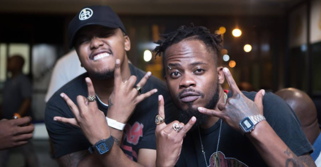 Check Out #BTS Footage From B3nchmarq's Pull Up Music Video