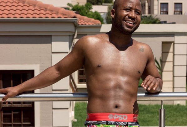 Cassper Promotes Boity's Workout Supplements!
