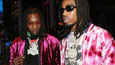 WATCH: Quavo & Offset Attempt To Jump Massive Guy After Concert