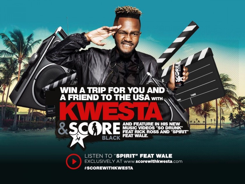 Kwesta Set To Take 2 Fans To The States To Shoot Music Videos They Will feature In