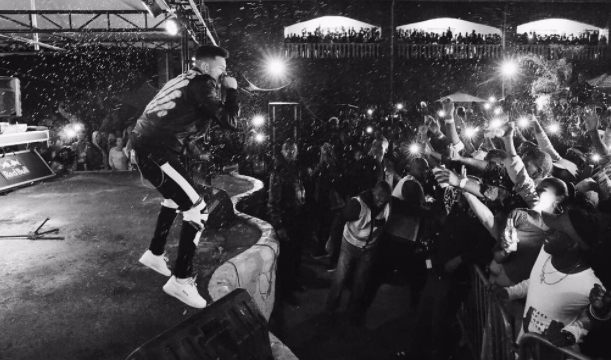 Watch AKA Fall Into The Crowd While Trying To Crowd Surf