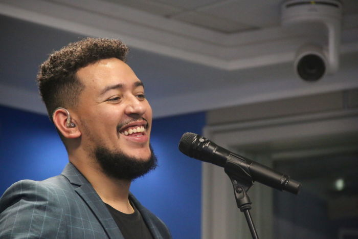 AKA Recieves Gold Coin From BET