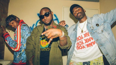 Check Out #BTS Images From Riky Rick's Murdah Music Video Featuring Davido