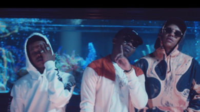 Tellaman Share's #BTS Images From His SAP Video Shoot Featuring Nasty C
