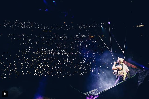 5 Most Iconic Photos From Casper Nyovest S Fill Up Fnb