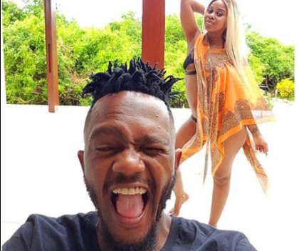 PICS! Kwesta Takes His Wife On Baecation In Mozambique!